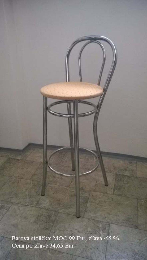 Barová stolička - MOC 99 EUR, zľava 65%, Cena po zľave 34,65 EUR