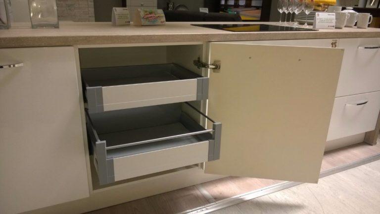Vnútorné vybavenie kuchynskej linky