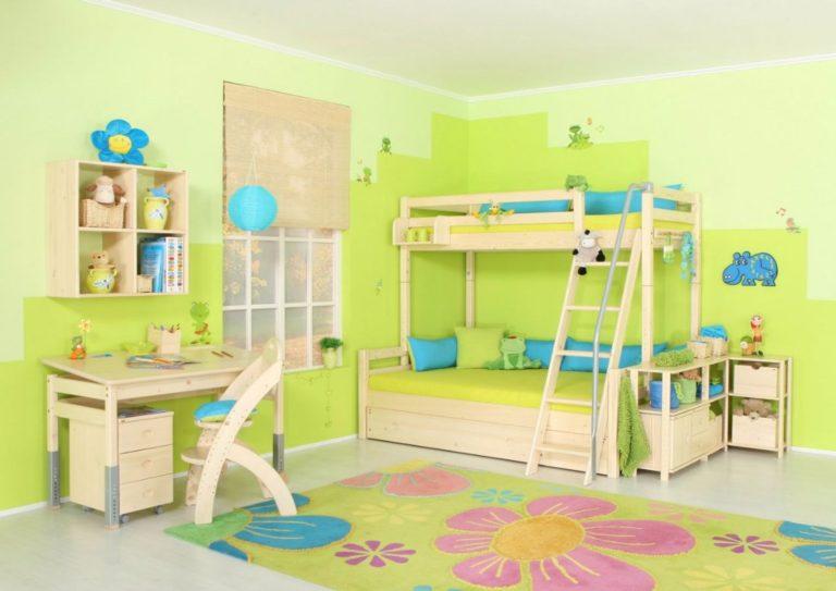 Detská izba z masívu