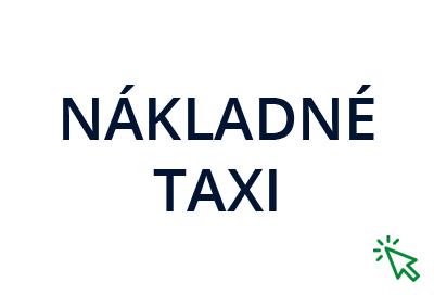 Nákladné taxi