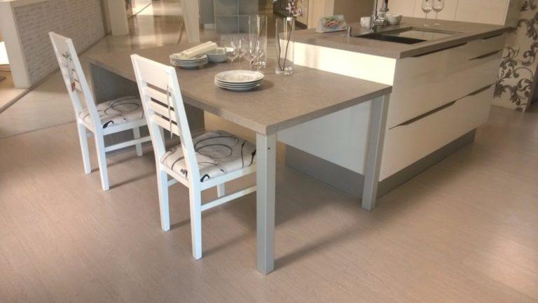 Prístavné stoly ku kuchynskej linke