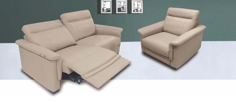 Kožené sedacie súpravy LC partners